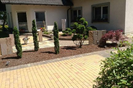 """Korac, Garten- und Landschaftsbau / Fotogalerie 2 """"Eingangsbereich ..."""